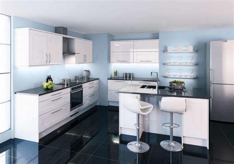 glacer en cuisine armoires de cuisine blanches avec quels murs et cr 233 dence