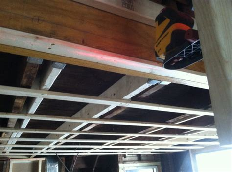 Ceiling Stud by How To Frame A Ceiling With Metal Studs Basement Wall Studs
