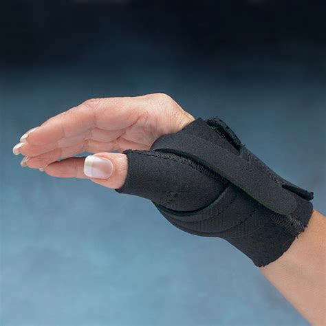 Comfort Cool Thumb Cmc Restriction Splints Black Or