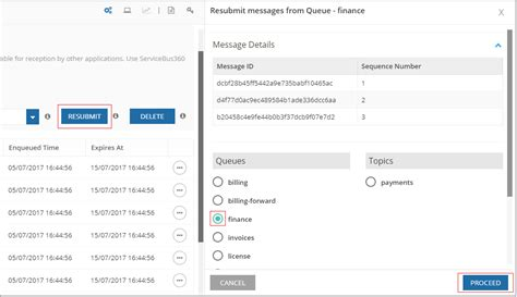 Service Access Dead Letter Queue Resubmit Messages In Servicebus3360 Queue Manage And Monitor Azure Composite Applications