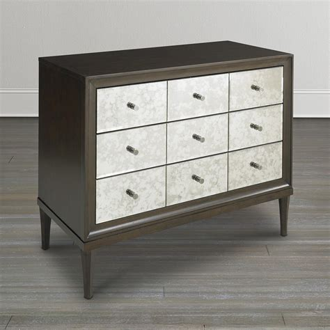 brown accent chest 3 drawers