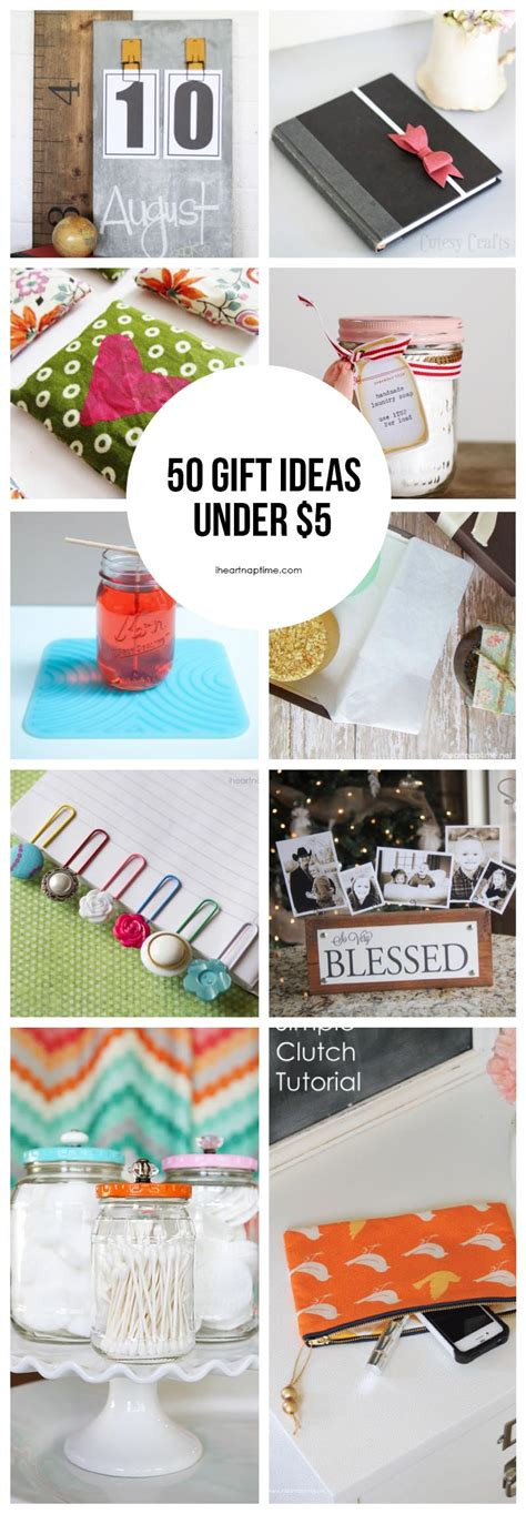 Handmade Diy Gifts - 50 gift ideas to make for 5 i nap time