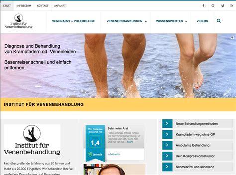 homepage design 2016 website f 252 r 196 rzte design 169 2016