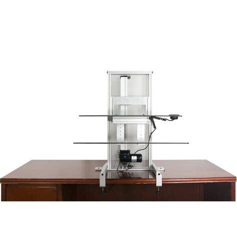 Ergotech Desk by Ergotech 700 Drop G One Touch Drop Sit Stand Workstation