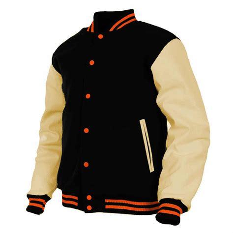 College Letterman varsity college letterman wool leather jacket cairoamani