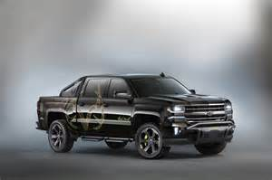 2016 chevrolet silverado realtree bone collector sema