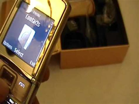 themes 8800 sirocco gold nokia 8800 sirocco gold custom versace by superrey s youtube