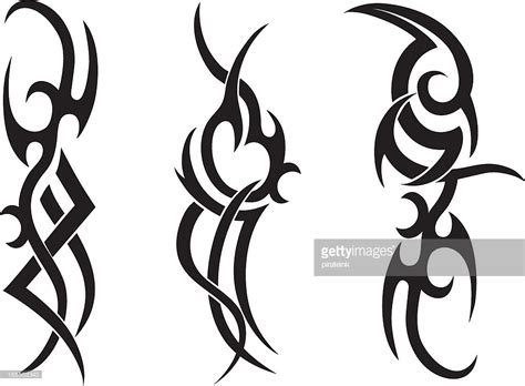tattoo tribal vector tribal tattoo designs vector art getty images