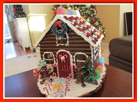 diy gingerbread house diy resin gingerbread house how to youtube