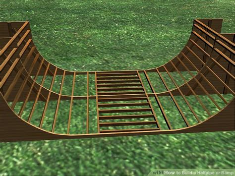 how to build a halfpipe in your backyard how to build a halfpipe or r 7 steps with pictures wikihow
