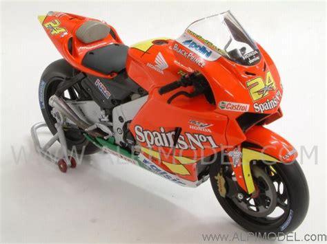 Altaya Honda Rc211v Toni Elias 2006 minichs honda rc211v team spain s 1 motogp 2006 toni elias 1 12 scale model