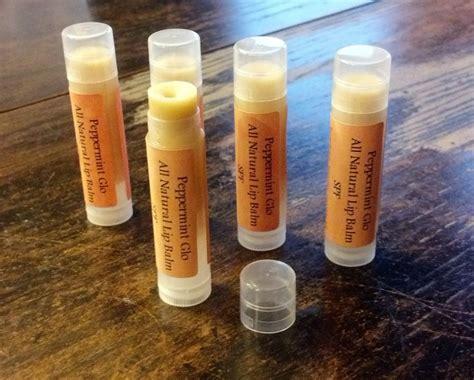 Babyganics Organic Lip Balm peppermint glo spf shimmer