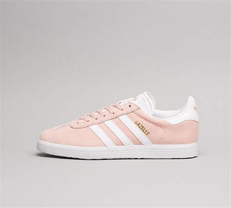adidas originals womens gazelle trainer vapour pink white footasylum