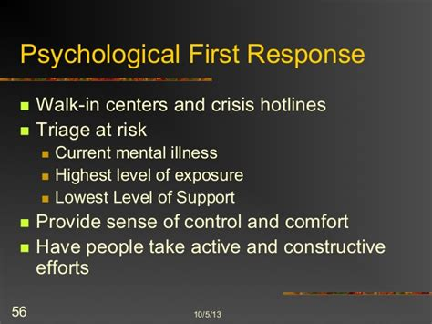 psychological comfort definition psychology of terrorism