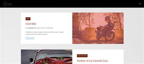 layout grid mode divi plugin highlight divi blog extras elegant themes blog
