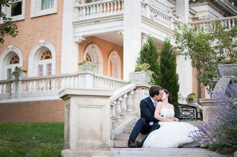 Grant Humphreys Mansion Romantic Denver Wedding Photographers