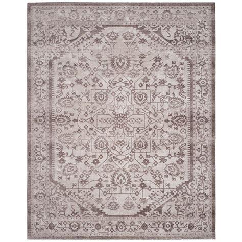 artisan area rugs safavieh artisan beige brown 8 ft x 10 ft area rug atn318m 8 the home depot