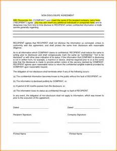 free nda agreement template non disclosure agreement templates excel best free