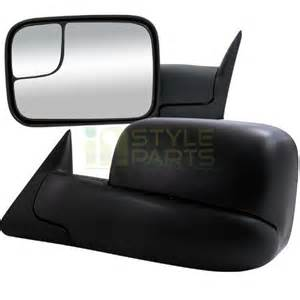 dodge ram 1500 power towing mirrors w heated function