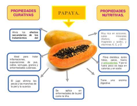 propiedades medicinales de la papaya botanica frutas 12
