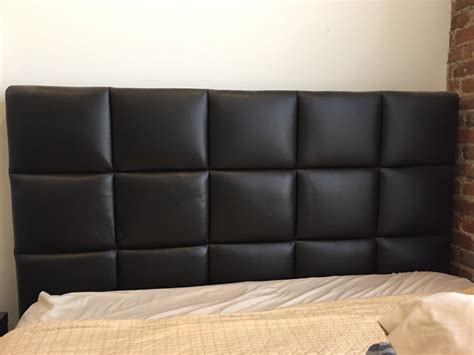 Quilted Headboard by Letgo Black Leather Quilted Headboard In Howard Ny