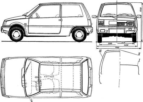 500 Sketches Pdf by Car Blueprints Dacia 500 Latsun Blueprints Vector