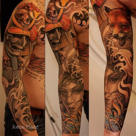 tattoo oriental realismo 70 eye catching sleeve tattoos barking sleeve and dr who