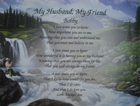 happy valentines day husband poems personalized husband poem valentines day gift memorial