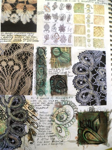 pattern sketchbook pages a study page inspired by lace exle sketchbook pages