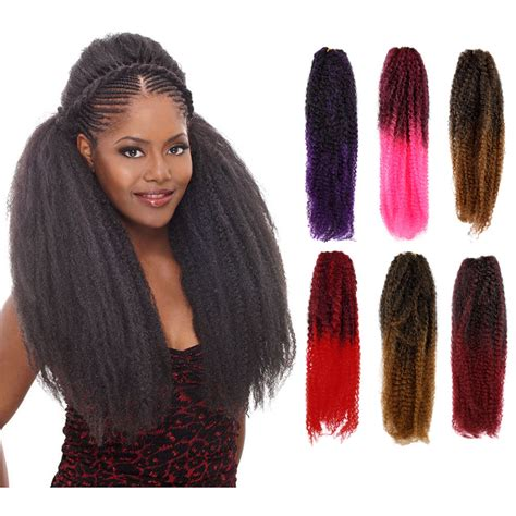 kanekalon hair kinky twist braid kanekalon short hairstyle 2013