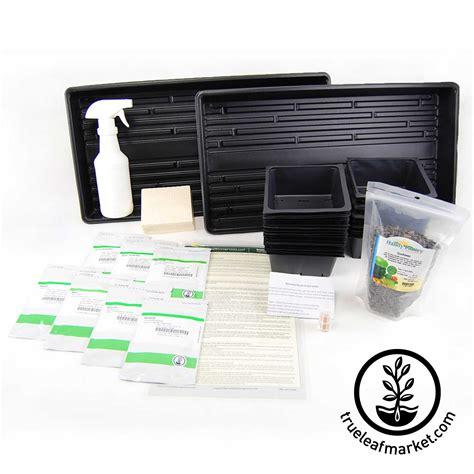 Starter Kit Microgreens sectional hydroponic microgreens growing starter kit