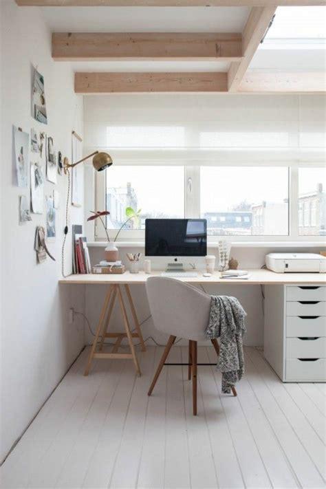 schreibtisch einrichten home office einrichten und dekorieren 40 anregende