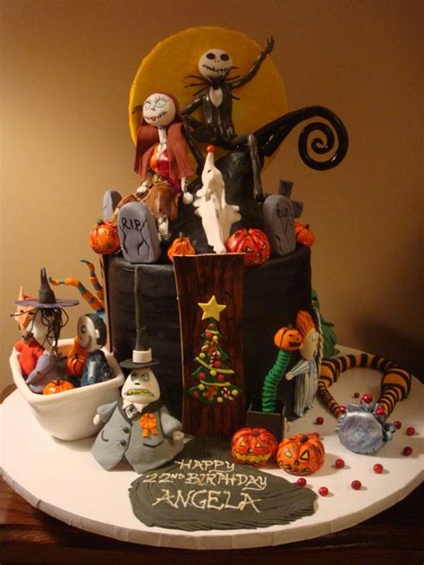 nightmare before christmas birthday cake c kes h liday