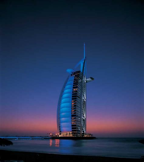 al burj burj al arab luxury hotel in dubai uae e architect
