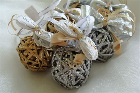 wicker christmas ornaments miniture decorations set of 5