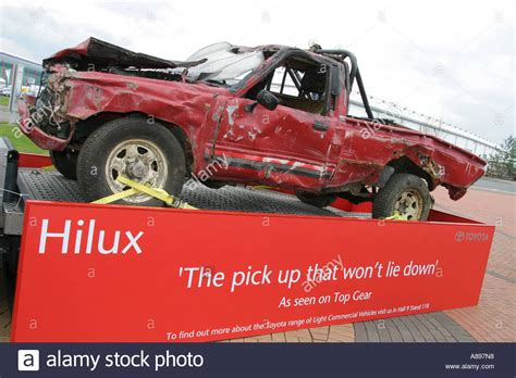 Top Gear Toyota Up Toyota Hilux As Demolished On The Television Program