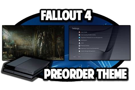 ps4 themes fallout ps4 themes fallout 4 preorder theme video in 60fps youtube