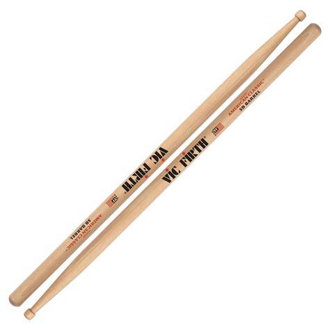 Stik Drum Vic Firth American Classic 5b Tip X5bn vic firth american classic 5b barrel tip drumsticks 5bbrl