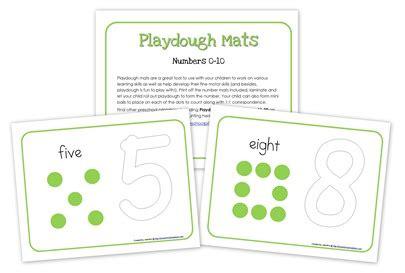 printable playdough math mats number playdough mats free printables