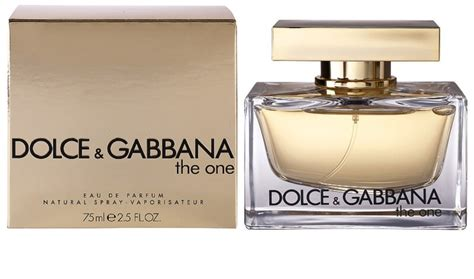 The One By Dolce And Gabbana dolce gabbana the one eau de parfum pentru femei 75 ml