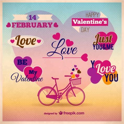 Kostenlose Vorlage ã Karte Karte Vorlage Der Valentinstag Der Kostenlosen Vektor
