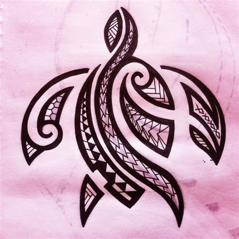 image gallery hawaiian tribal turtle tattoos