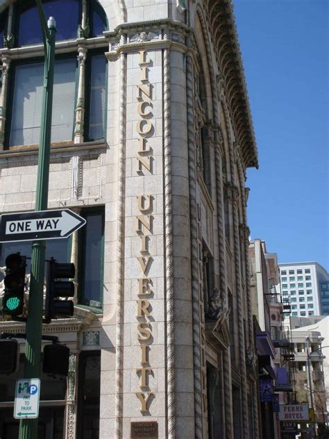 Mba At Oakland by Lincoln Colleges Universities Downtown