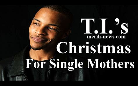 rapper t i christmas gift for single mothers in walmart