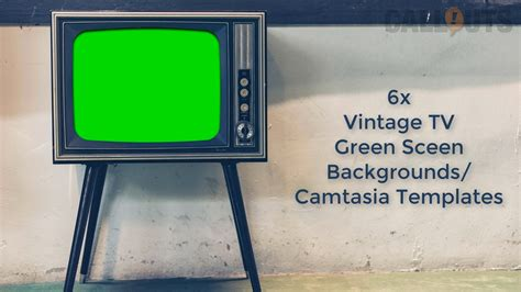 green screen backgrounds free templates camtasia template vintage tv sets green screen backgrounds