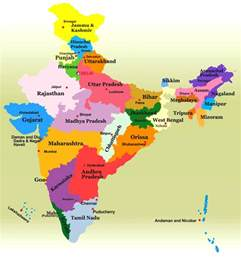 Indian States Map by States Of India Indian States Information