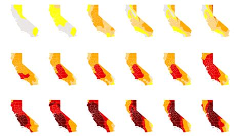 california drought map 275 california drought maps show drought and current