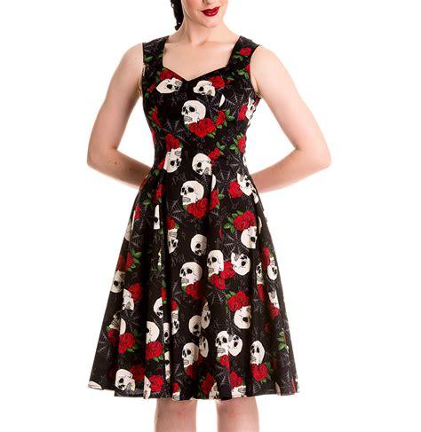 Dress Anak Premium Rabbit hell bunny 50s dress rock and ruin skulls roses all sizes ebay