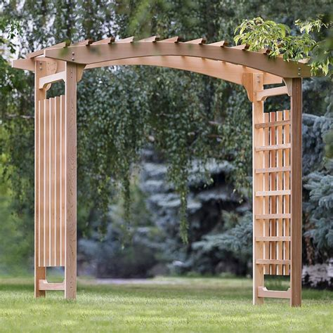 Garden Arbor Lowes by All Things Cedar Pa106u Garden Wedding Arbor Lowe S Canada