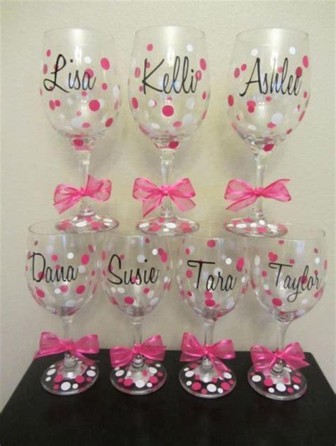 bicchieri decorati bicchieri decorati foto fai da te
